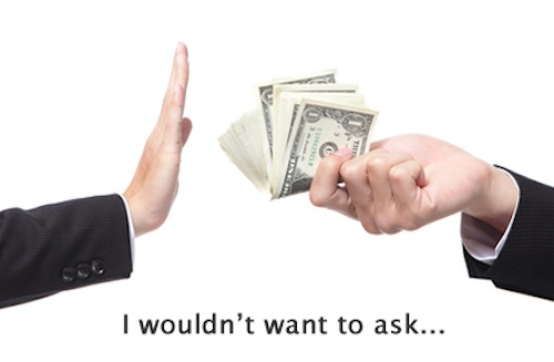 Why do We Resist Asking for Money?