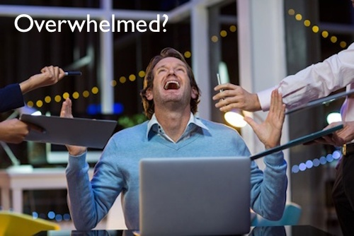 8 Tips To Get Over Marketing Overwhelm