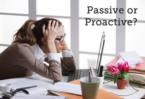 Balancing Passive And Proactive Marketing Activities