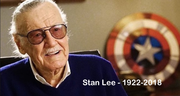 R.I.P. Stan Lee – 1922-20182 Min Read