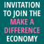 """Join the """"Make a Difference Economy"""""""